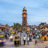 Famous victorian Clock Tower in Jodhpur, India Royalty Free Stock Photography