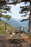 Famous viewpoint Banjska stena Tara mountain Royalty Free Stock Images