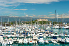 Famous village Antibes near Nice Stock Photography