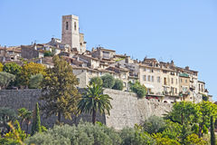 The famous village of Saint Paul de Vence Stock Image
