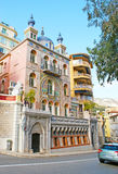 The famous Villas of Monaco Stock Photography