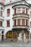 The famous 1589 vintage Public Royal Brewery in Munich, Germany royalty free stock photo