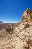 Famous volcanic landscape in Teide National Park, Tenerife, Canary islands, Spain. Royalty Free Stock Photo
