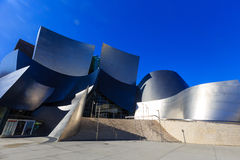 The famous Walt Disney Concert Hall Stock Image