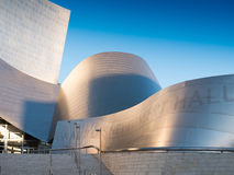 Famous Walt Disney Concert Hall Royalty Free Stock Photos