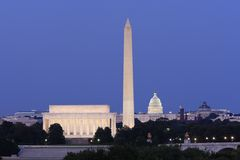 Famous Washington Buildings Royalty Free Stock Photos