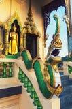 Famous Wat Plai Laem Temple in Ko Samui, Thailand stock photo