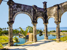 Famous water temple of Ujung Royalty Free Stock Photos