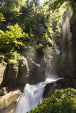 Famous Waterfalls Giessbach in the Bernese Oberland, Switzerland Stock Images