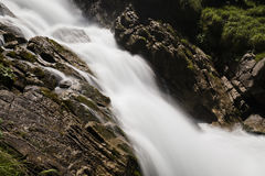 Famous Waterfalls Giessbach in the Bernese Oberland, Switzerland Stock Photo