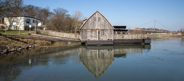 famous watermill in minden germany Royalty Free Stock Image