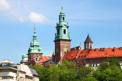 Famous Wawel Cathedral Stock Image