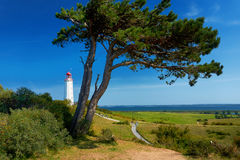 Free Famous White Lighthouse Close To Kloster Stock Images - 90029274