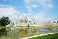 Famous white temple Stock Images