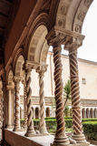 Famous Winding Columns Royalty Free Stock Photography