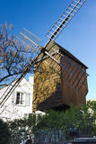 Famous windmill on Monmartre, Paris, France Stock Image