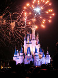 The famous Wishes nighttime spectacular fireworks Royalty Free Stock Photos
