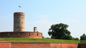 Famous Wisloujscie fortress in Gdansk, Poland. Outdoor Polish Danzig, Danzing Royalty Free Stock Photography