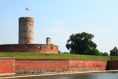 Famous Wisloujscie fortress in Gdansk, Poland. Outdoor Polish Danzig, Danzing Stock Photo