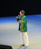 The famous Xinjiang singer Karim-theFamous and classicconcert Royalty Free Stock Image