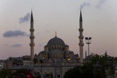 Famous Yeni Cami, Istanbul Stock Photo