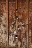 The famous Zanzibar doors in Stone Town Stock Photos