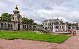 Famous Zwinger palace in Dresden, Saxrony, Germany. October 5, 2 stock photo