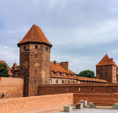 Famouse castel σε Malbork στοκ φωτογραφία με δικαίωμα ελεύθερης χρήσης