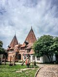 Famouse castel i Malbork Royaltyfria Bilder