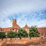 Famouse castel in Malbork Royalty Free Stock Photo