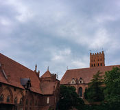 Famouse castel in Malbork Royalty Free Stock Photography
