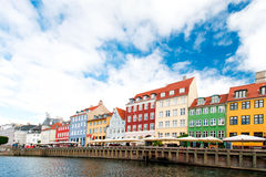 Famouse Copenhagen place Royalty Free Stock Photo