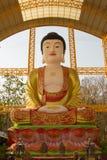 Famouse großer Buddha im chinesischen Tempel bei Thailand Lizenzfreies Stockfoto