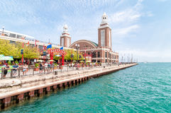 Famouse Navy Pier, Chicago, Illinois, USA Stock Photography