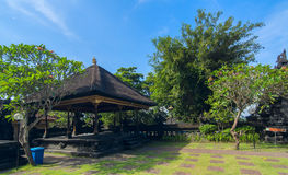 Famouse old temple on island Bali Stock Image