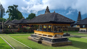 Famouse temple in Bali Stock Photography