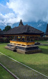 Famouse temple in Bali Stock Image