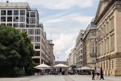 famoust touristic Berlin squeare - Gendarmenmarkt Royalty Free Stock Image