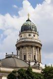 Famoust touristic Berlin squeare - Gendarmenmarkt Royalty Free Stock Photography