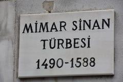 Famuos Zincirlihan in Grote Bazaar, Istanboel Er zijn juwelen Deur, courtyardMimar Sinan Tomb Suleymaniye Turkey stock foto's