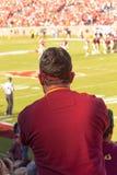 Fanático del fútbol de la universidad de estado de la Florida Fotografía de archivo