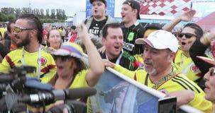 fanáticos del fútbol de Colombia metrajes