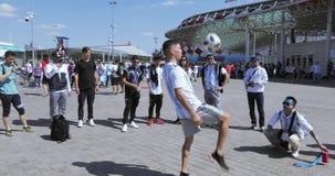 Fanáticos del fútbol de la Argentina almacen de video