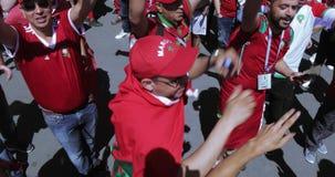 Fanáticos del fútbol de Marokko metrajes