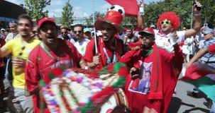 Fanáticos del fútbol de Marruecos metrajes