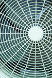 Fan. White fan of air conditioners Stock Photography