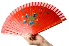 Fan royalty free stock photo