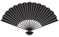 Fan. Traditional japanese fan, oriental fan Stock Images
