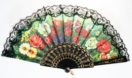 Fan. Woman fan for hot summer nights Royalty Free Stock Images