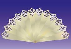 Fan. Object. a  illustration Royalty Free Stock Photography